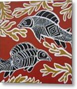 Fish Dreamin Metal Print