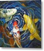 Fish Soup Metal Print by Pat Burns