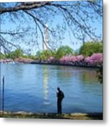 Fisherman In Dc Metal Print