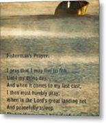 Fisherman's Prayer Metal Print