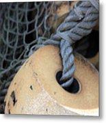 Fishing Net Metal Print