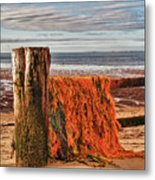 Fishing Nets In Province Town Metal Print