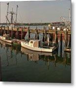Fishing Pier Metal Print