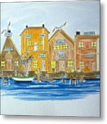 Fishing Village 2 Metal Print