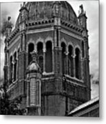 Flagler Memorial Presbyterian Church 3  B-w Metal Print