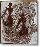 Flamenco Passion 5 Metal Print