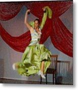 Flamenco Show Nr 2 Metal Print