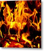 Flames Of Imagination Metal Print