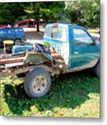 Flatbed Truck Metal Print