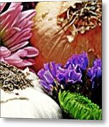 Flavored With Onion And Garlic Metal Print