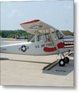 Flight Line Metal Print by Jame Hayes