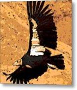 Flight Of The Condor Metal Print