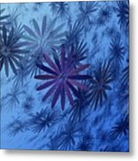 Floating Floral-010 Metal Print
