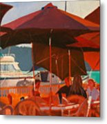 Floating Restaurant Metal Print