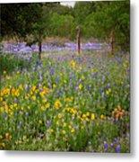 Floral Pasture No. 2 Metal Print
