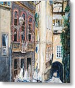 Florence Archway Metal Print