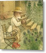 Florentius The Gardener20 Metal Print