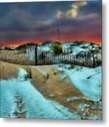 Florida Mountain Metal Print by Joetta West