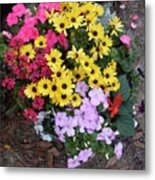 Florida Spring Flowers Metal Print