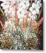 Flower Arrangment Metal Print