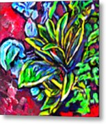 Flower Culture 295 Metal Print