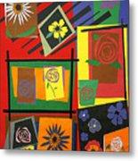 Flower Study 2 Metal Print by Teddy Campagna