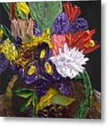 Flowers For Linda Metal Print