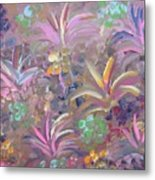 Flowers In Spring Metal Print