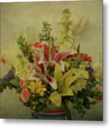 Flowers Metal Print by Sandy Keeton