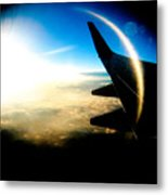 Fly Like A Dolphin Metal Print