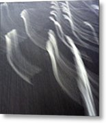 Flying Waves Metal Print