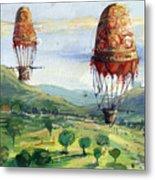 Flyingballons Metal Print