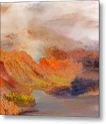 Foggy Autumnal Dream Metal Print