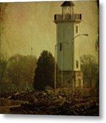 Fond Du Lac Lighthouse Metal Print