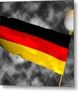 Football World Cup Cheer Series - Germany Metal Print