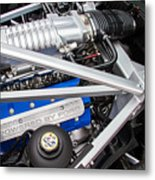 Ford Gt40 Engine Metal Print