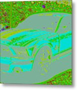 Ford Shelby D4 Metal Print