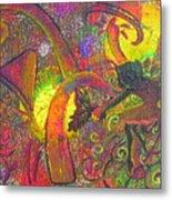 Forest Fairies - 1 Metal Print