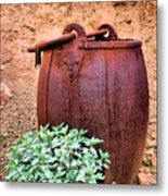 Forgotten Bucket Metal Print