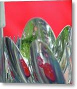 Forks And Spoons Metal Print
