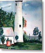 Fort Gratiot Lighthouse Michigan Metal Print