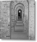 Fort Macon Going Home Metal Print