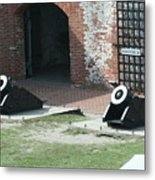 Fort Morgan Mortars Metal Print
