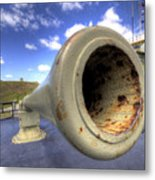 Fort Moultrie Cannon Metal Print