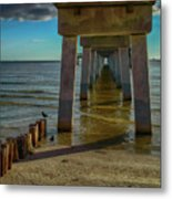 Fort Myers Beach Metal Print