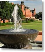 Fountain And Union Metal Print