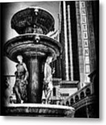 Fountain Of Wealth Metal Print