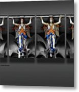 Four Angels Of The Corvey Abbey Metal Print
