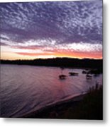 Four Elements Sunset Sequence 6 Coconuts Qld  Metal Print