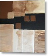 Four Square Metal Print by Marsha Heiken
